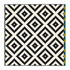 LAPPLJUNG RUTA Vloerkleed, laagpolig IKEA Het kleed is door zijn gelijkmatige oppervlak makkelijk te stofzuigen en te onderhouden. $59,95