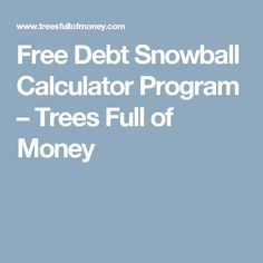 if youre using the debt snowball method to pay off your debt and curious how long it will be before you are debt free this simple debt snowball