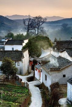 Village in Anhui, China by Tony Wong