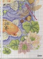 "ru / frango - Альбом ""Flashes of gold"" Cross Stitch Books, Cross Stitch Animals, Cross Stitches, Cross Stitch Collection, General Crafts, Crochet Baby, Needlework, Vintage World Maps, Fish"