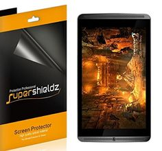 NVIDIA Shield Tablet / Tablet K1 Screen Protector, [3-Pack] Supershieldz® Anti-Bubble High Definition Clear Shield + Lifetime Replacements Warranty- Retail Packaging