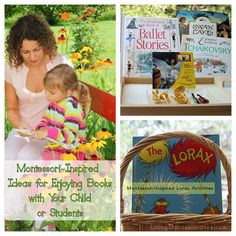 Montessori-Inspired Ideas for Enjoying Books with Your Child or Students