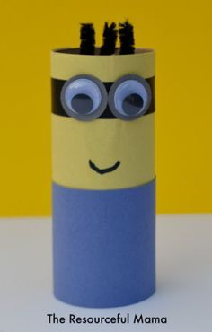Toilet Paper Roll Minions  Get it on http://Papr.Club as a Monthly Subscription