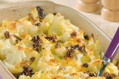 Κουνουπίδι φουρνιστό με κρέμα γιαουρτιού - Συνταγές | γαστρονόμος