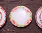 NOT polymer clay - these dishes are made from air dry clay + printie | Source: Park2