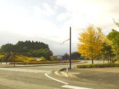 会津,レクリエーション公園の入り口