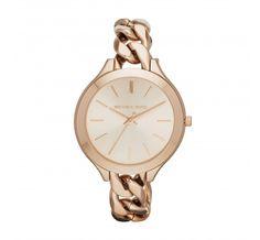 Horloge Michael Kors Ladies Slim Runway Rose Goud MK3223 kopen? Op werkdagen voor 20:00 besteld, volgende dag in huis. Gratis verzending en achteraf betalen!