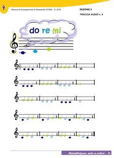 Insegnare musica con le note colorate