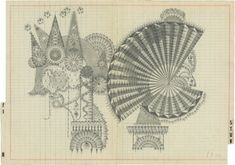 BIJ-STUV  Graphite on antique ledger book page. 16 x23 inches