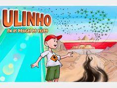 Ulinho conta a história das Pragas (livro com audiobook)