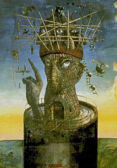 The Tower - Akron Tarot