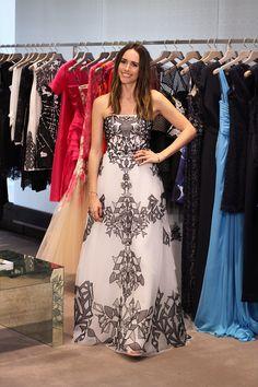 "Option #2 - Monique Lhuillier   ""Help Me Pick My Oscar Dress""   Front Roe by Louise Roe"