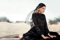 Lily Donaldson stars in Harper's Bazaar UK October issue