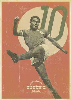 vintage soccer posters