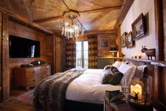 Chalet Le Rocher, Val d'Isere, France. Luxury ski chalet with exceptional service from Firefly Collection. www.firefly-collection.com