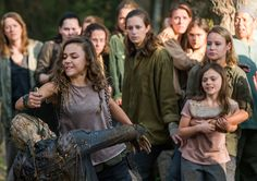 """The Walking Dead S07 E15 """"Something They Need."""" Season 7 Episode 15. #twd"""