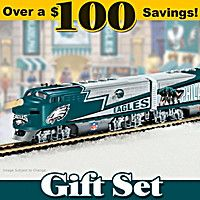 Philadelphia Eagles Express Train Set
