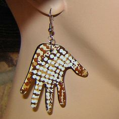 #Earring Recycled From An...    share .. repin .. like