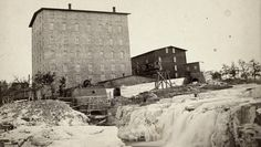 The story of a Sioux Falls landmark in what is now Falls Park