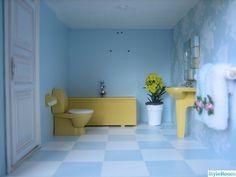 gult badrum