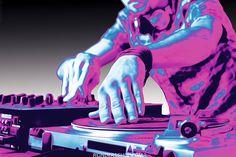 Draaitafel, mengpaneel, DJ