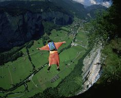 """Will """"Flying Squirrel"""" Suit Let Skydivers Jump Without Chutes? -- Don ..."""