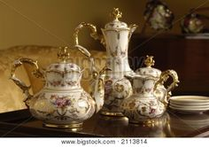 Antique China Tea Set