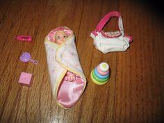 Baby$14.99 blondebaby Krissy Doll Plus Super cute Accessories !!mattel Barbie saved from ebay.com visit Different Little Babys blonde baby Krissy doll Plus Super cute Accessories !! Mattel Barbie