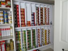 Rotating canned food system - diy - YouTube