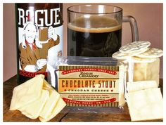 Rogue Creamery Chocolate Stout Cheddar