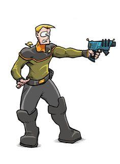 Tagon from Schlock Mercenary