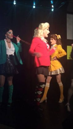 Candy Store: (Drag Edition) from Heathers The Musical THIS IS AMAZING! THEIR CHOREOGRAPHY IS EVEN IN SYNC WITH EACH OTHER HOW LIKE OMG