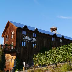 Hillside Winery & Bistro in Naramata, Okanagan/BC wine country