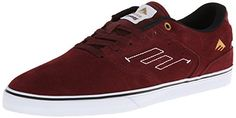 Emerica Men's The Reynolds Low Vulc Skateboarding Shoe - http://shoes.goshopinterest.com/mens/fashion-sneakers-mens/emerica-mens-the-reynolds-low-vulc-skateboarding-shoe/
