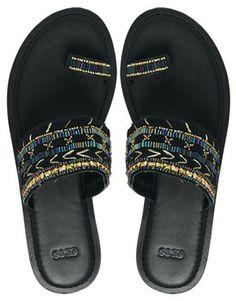 Image 3 ofASOS FANTASIA Embellished Sliders