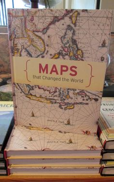 Maps That Changed the World Book by Clark