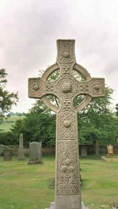 celtic cross - Love the idea of have a carved stone cross as the center of the ceremony and then make it the center piece of our garden
