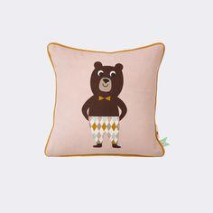 Kissen - Kinder - Bär - Ökologisch - Dänisch Design