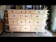 Organizador feito de pinus
