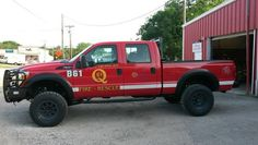 New Quinlan Fire Department Brush Truck