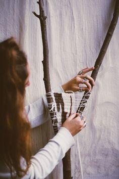 DIY Branch Weaving | Free People Blog #freepeople