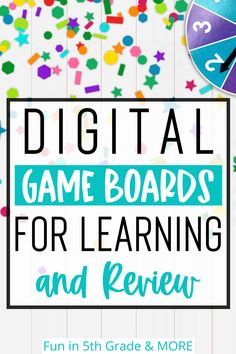 Gamifying education has always been one of my favorite ways to engage students! Recently, I've placed my efforts in taking some of the topics I typically use for review and created digital, Google-friendly versions of the games that can be shared with students through online means. Each game includes a Google-integrated gameboard that can be played using Google slides and a pdf. Learn all about to engage your students with these digital game boards and how to get the most out of them! Math Websites, Educational Websites, Game Boards, Board Games, Digital Review, Fun Math Games, Math Strategies, Reading Games, Review Games