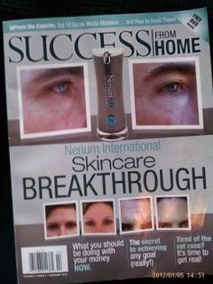 Read how Nerium is one of the youngest companies featured in Success from Home.