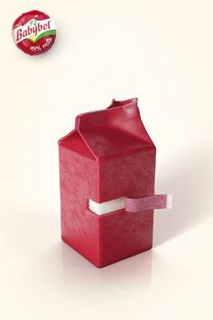 Mini Babybel 98ilk Ads by Y&R Paris   http://www.gutewerbung.net/mini-babybel-98-milk-ads-yr-paris/ #Advertising