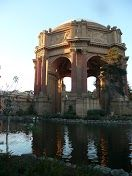 """Lots of free things to do in San Francisco. The picture shows the Palace of Fine Arts park. Other things to do are to view the Grace Cathedral, visit the Maritime Museum and Sourdough bakery along the Fisherman's Wharf, walk along the Golden Gate Bridge (touristy but beautiful) and see the Tonga room bar where an episode of """"No Reservations"""" was filmed (you could always drink there but the drink prices are very high)."""