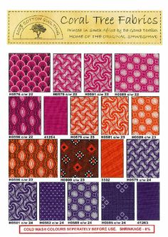 South African Shweshwe fabric- so happy Whitby Fabrics now carry the 3 cat shweshwe fabrics! things to buy from SA African Textiles, African Fabric, African Room, African Inspired Fashion, Ethnic Patterns, Hand Applique, Ankara Fabric, Cool Fabric, Fabulous Fabrics