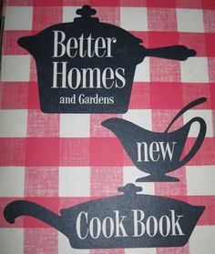 Vintage Better Homes and Gardens Cookbook by BroughtBackToYou, $12.00