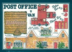 FIDDLERS GREEN - Post Office and Van