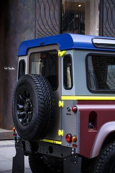 Land Rover crée un Defender sur mesure pour Paul Smith - via Jaguar Land Rover Fréjus www.jaguarlandrover-cotedazur.com
