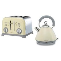Cream Kettle And Toaster Traditional Kettles